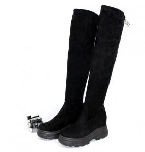 Весняні чоботи - Ботфорти жіночі