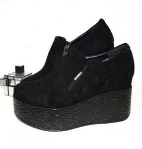 Туфлі жіночі на танкетці - туфлі на шпильці, туфлі в Україні, туфлі зі стразами