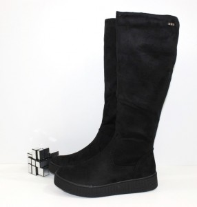 Весняні чоботи - Чоботи жіночі замш