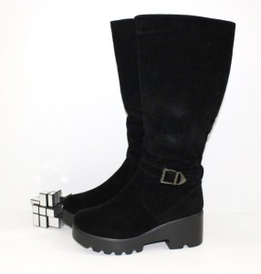купити Чоботи жіночі середній каблук - жіноча зимове взуття, Запоріжжя, Дніпропетровськ, Одеса, Харків
