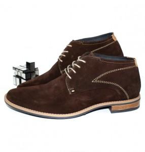 Купити Чоловічі черевики з натуральної замші