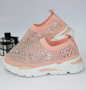 Кросівки в стразах - купити дівчаткам для школи