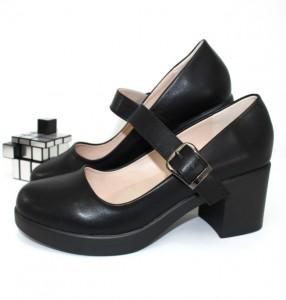 Туфлі жіночі з ремінцем - туфлі на шпильці, туфлі в Україні, туфлі зі стразами
