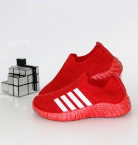 Червоні модні кросівки - купити дитячі кросівки для самих маленьких дівчаток