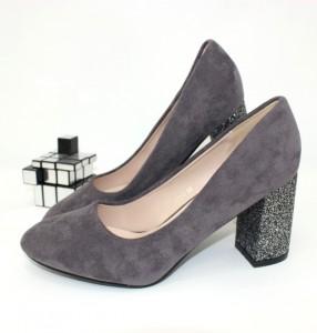 Туфлі жіночі стійкий каблук - туфлі на шпильці, туфлі в Україні, туфлі зі стразами