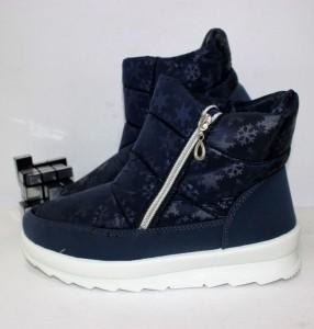 G1114-1 синій сніжинка