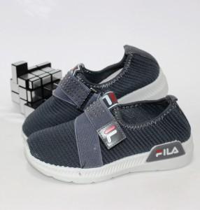 Текстильні кросівки для дівчинки на липучці - купити дитячі кросівки для садка