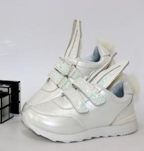 Кросівки для дівчинки зайчика - купити дитячі кросівки для садка