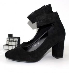 Туфлі жіночі на липучці - туфлі на шпильці, туфлі в Україні, туфлі зі стразами