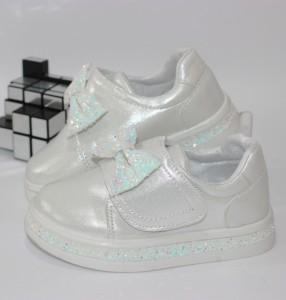 Кросівки для дівчинки з бантиком - купити дитячі кросівки для садка