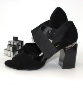 Жіночі босоніжки стійкий каблук - купити недорого України в інтернет магазині