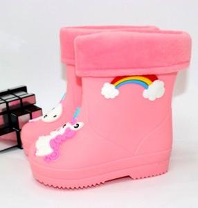 """Купити Дитячі гумові чоботи для дівчаток ОВТ p-110599. Взуття в роздріб - """"Перший взуттєвий"""""""