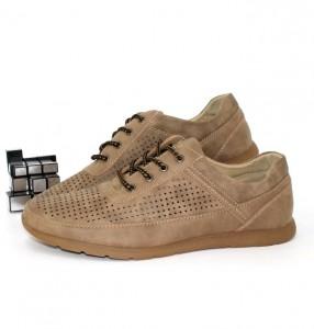 Купити Туфлі чоловічі з перфорацією (Недорого)