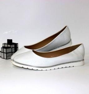 Балетки жіночі перламутрові - купити жіноче взуття в інтернет-магазині