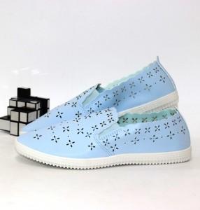 Сліпони жіночі перфорація - купити кеди в стилі Vans в інтернет магазині взуття