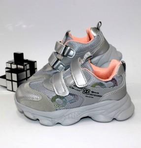 Кросівки для дівчинки на липучках - купити дитячі кросівки для садка