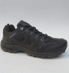 Мужские удобные мужские кроссовки 1106-1 BLACK - купить оптом