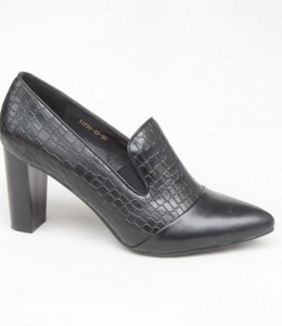 Женские туфли оптом - стильные туфли 11786-15 BLACK
