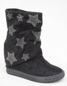 Женская обувь осень - оптом хит продаж 1336-1 BLACK
