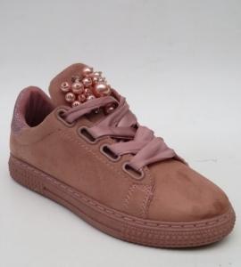 """Купить Кеды женские оптом - слипоны, криперы, эспадрильи Fashion 16-516 PINK. Обувь оптом - """"Первый обувной"""""""