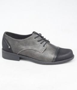 Женские туфли оптом - туфли 16023-1 BLACK