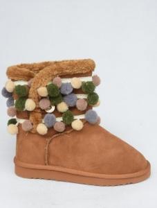 Купить оптом улетные зимние угги 1653 CAMEL - недорого в интернет-магазине 1shoes