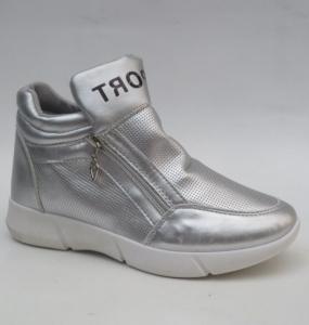 """Купить Кроссовки женские опт Obuw 1724 SILVER. Обувь оптом - """"Первый обувной"""""""