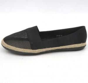 """Купить Кеды женские оптом - слипоны, криперы, эспадрильи Obuw 178-43 BLACK. Обувь оптом - """"Первый обувной"""""""