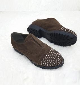 Женские туфли оптом - супер эффектные туфли 22-2 green\OLIVE