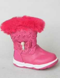 Детская обувь опт - модные детские ботиночки 2390E FUSHIA в интернет магазине, Украина