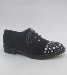 Женские туфли оптом - стильные туфли 2721 BLUE
