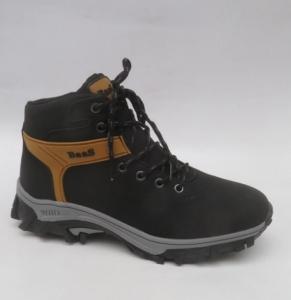 Мужская зимняя обувь оптом - мужские ботинки Баас 299-1 BLACK