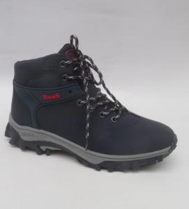 Мужская зимняя обувь оптом - стильные спортивные ботинки 299-3 GREY