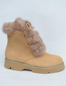 Купить оптом удобные зимние ботинки Вицес 3143-17 CAMEL - недорого в интернет-магазине 1shoes
