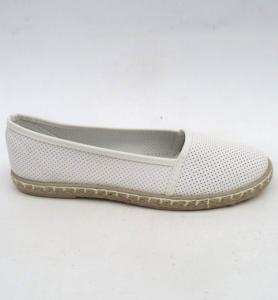 """Купить Кеды женские оптом - слипоны, криперы, эспадрильи Obuw 427-2 WHITE. Обувь оптом - """"Первый обувной"""""""
