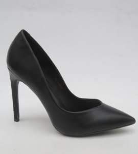 Туфли на шпильке оптом - классические лодочки 5164-1 BLACK