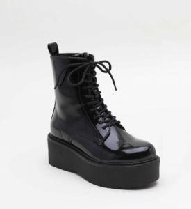 Женская обувь осень - оптом мега классные ботинки  5371 black