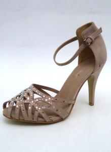 Дешевая обувь оптом - купить босоножки 550-1 BEIGE