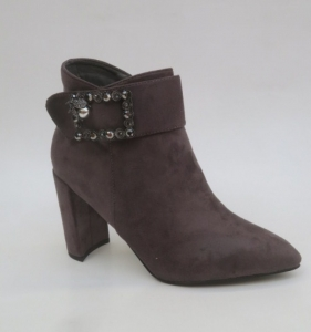 Женская обувь осень - оптом оригинальные молодежные ботинки 58-579 GREY