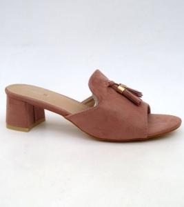 Дешевая обувь оптом - купить стильные летние шлепанцы 6243 PINK