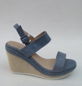 Дешевая обувь оптом - купить модные босоножки на лето 6291 BLUE