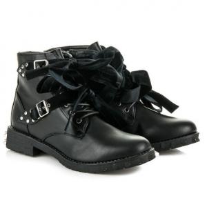 Купить оптом мега классные зимние ботинки NR1706-1 - недорого в интернет-магазине 1shoes