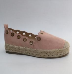 Женские туфли оптом - стильные эспадрильи 666-12 PINK