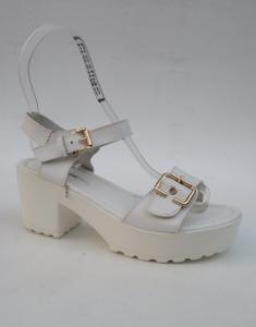 Дешевая обувь оптом - купить босоножки 7-85559 WHITE