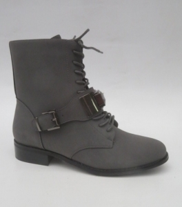 Женская обувь осень - оптом женские ботинки 7-X8001B GREY