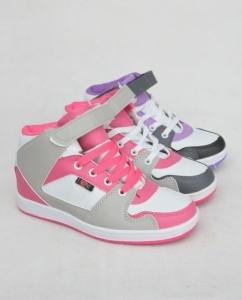 Обувь детская оптом - купить удобные детские ботинки - сникерсы 760-2 MIX4