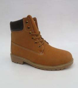 Мужская зимняя обувь оптом - стильные мужские ботинки 790-2 CAMEL