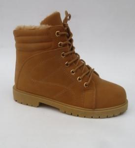 Купить оптом зимние классные ботинки 7A-1B CAMEL - недорого в интернет-магазине 1shoes