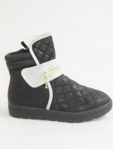 Обувь детская оптом - купить модные детские ботинки 8168-1 BLACK/SILVER