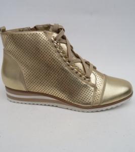 Женская обувь осень - оптом стиляжные ботинки 8618 GOLD